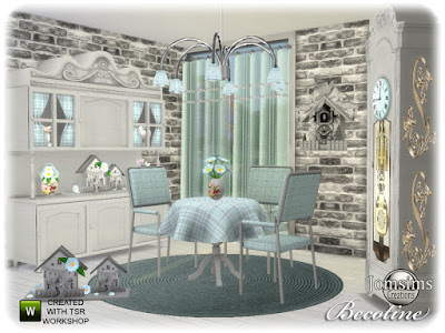 Стиль кантри — наборы мебели и декора для Sims 4 со ссылками для скачивания