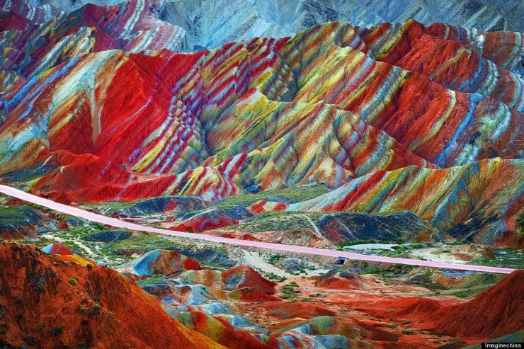 25. The Danxia Landform, China - 29 Wonderful Paths