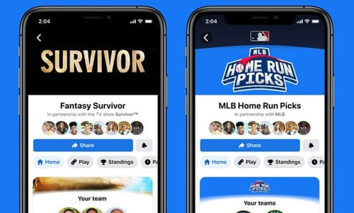 Facebook enters the field of fantasy sports