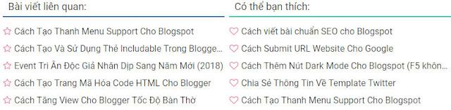 Cách thêm bài viết liên quan cho blogspot, code tạo bài viết liên quan cho blogspot, code thêm bài viết cho blogspot