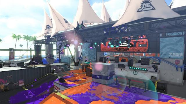Nintendo anuncia un nuevo escenario para Splatoon 2, Auditorio Erizo