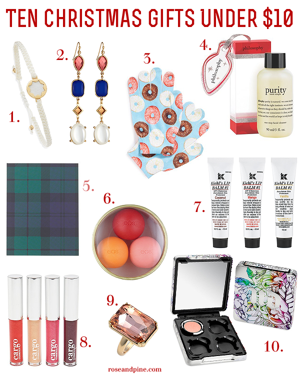 Ten Christmas Holiday Gift Goos Stocking Stuffers Under Dollars 10 Affordable Fashion Beauty Style