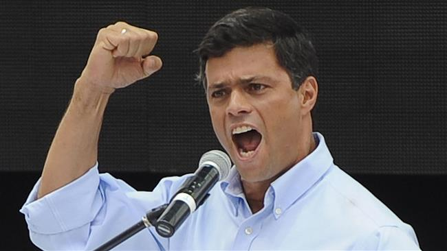 Jailed Venezuela opposition leader Leopoldo Lopez urges more protests against the government of President Nicolas Maduro