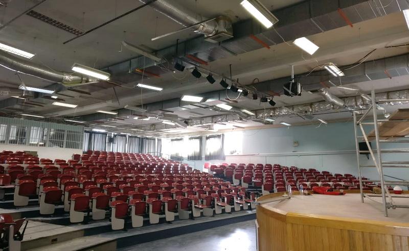 Η απάντηση της Διοίκησης του ΔΠΘ για τις ζημιές σε Αμφιθέατρο του Πανεπιστημίου