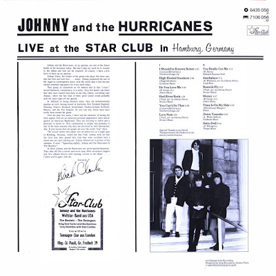 Johnny And The Hurricans - Live at the Star Club Hamburg