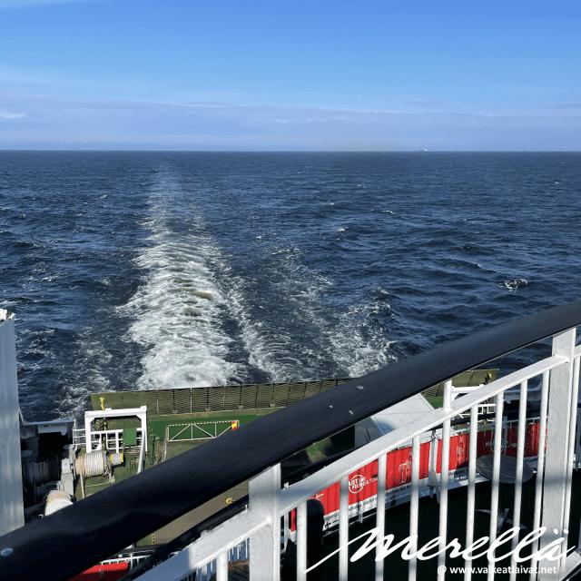 Tallinkin laivalla Tallinnaan