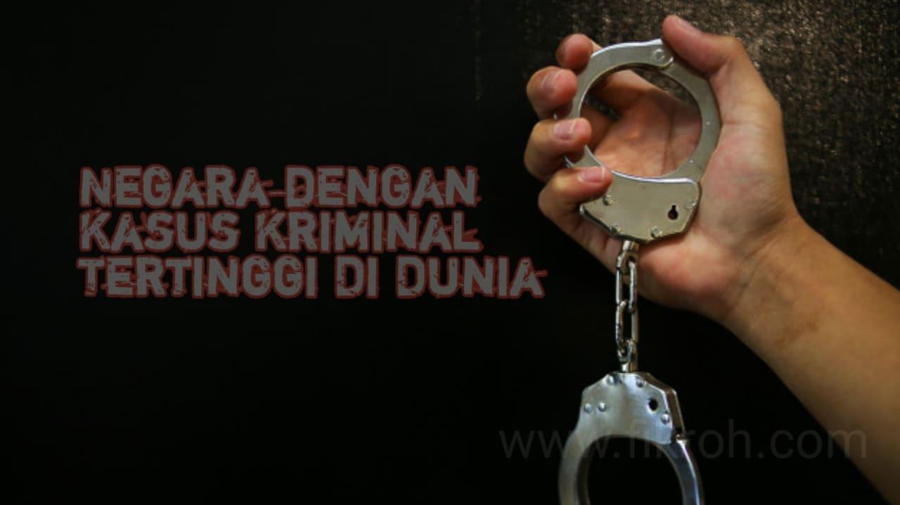 Fakta, Negara dengan Tingkat Pembunuhan, Pelacuran, Pemerkosaan Terbesar di Dunia Bukan Negara Islam