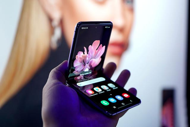 مقطع مسرب للهاتف سامسونج Galaxy Z Flip 5G
