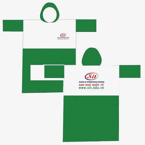 Cơ sở in áo mưa quảng cáo, áo mưa quà tặng, áo mưa chất lượng cao tại Trà Vinh