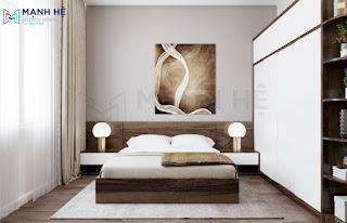 Mẫu thiết kế phòng ngủ từ 15m2 - 20m2 cho căn hộ chung cư