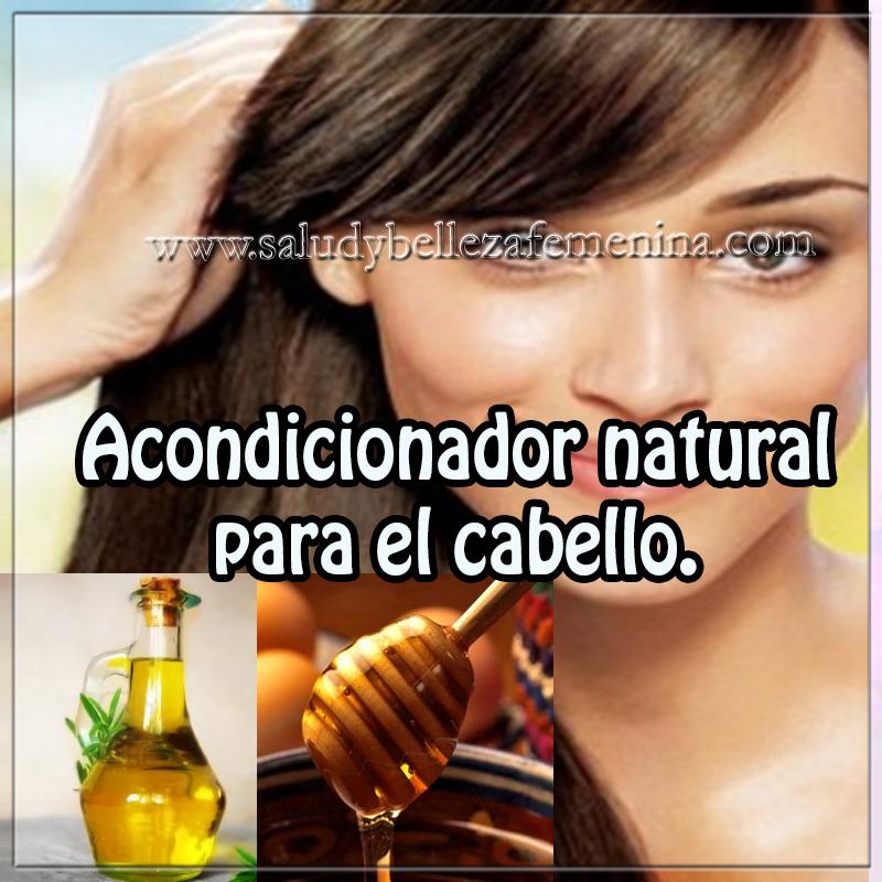 Belleza , cuidados del cabello, receta natural acondicionador cabello