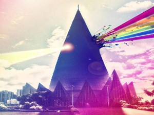 Cartaz de propaganda da Parada Gay