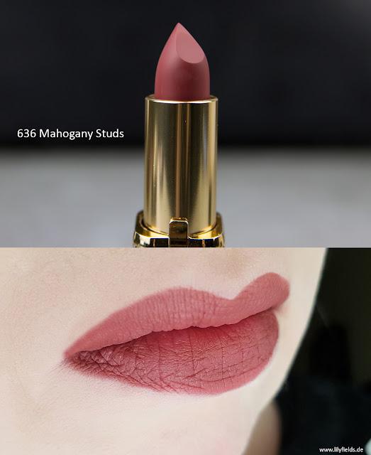 L'Oréal Color Riche Matte Lippenstifte  636 'Mahogany Studs'