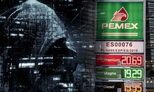 Ataque de hackers a Pemex