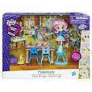 MLP Equestria Girls Minis Pep Rally School Cafeteria Set Fluttershy Figure
