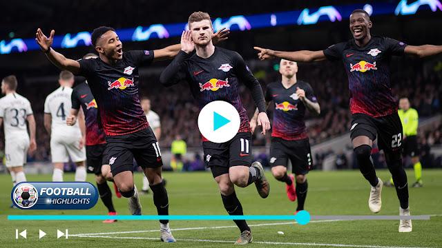 Tottenham vs RB Leipzig Highlights