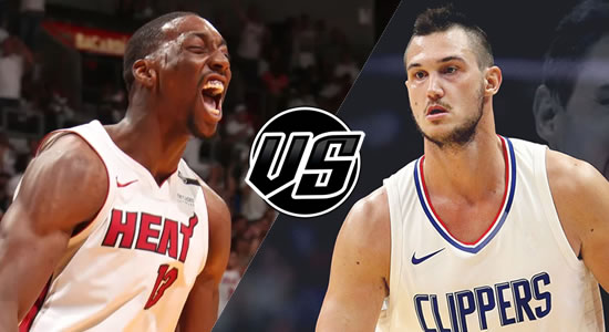 Live Streaming List: Miami Heat vs LA Clippers 2018-2019 NBA Season