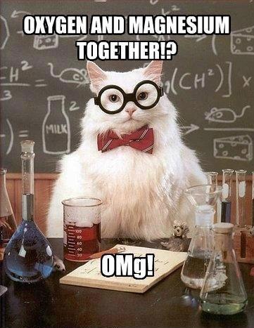 oxygen and magnesium
