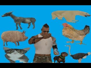 مود الحيوانات GTA V في لعبه GTA SA
