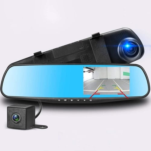 Podazz Full HD Dual Lens Dash Cam Car Camera