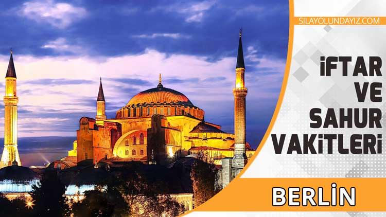 Berlin İftar Vakti ve Sahur Saatleri 2020 Ramazan İmsakiyesi