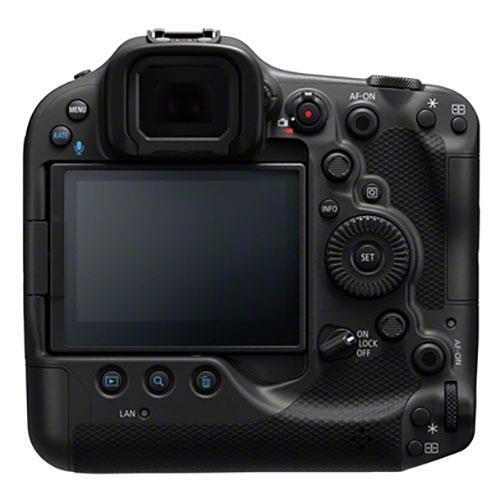 Canon EOS R3, вид сзади