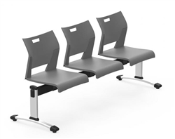 3 person guest reception bench