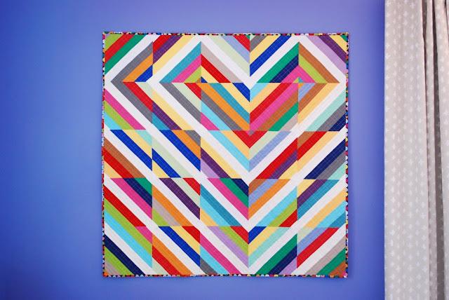 Katie Pedersen - heart strings quilt