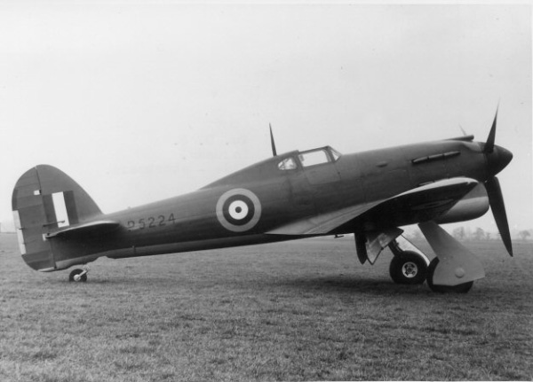 5 December 1940 worldwartwo.filminspector.com Hawker Tornado