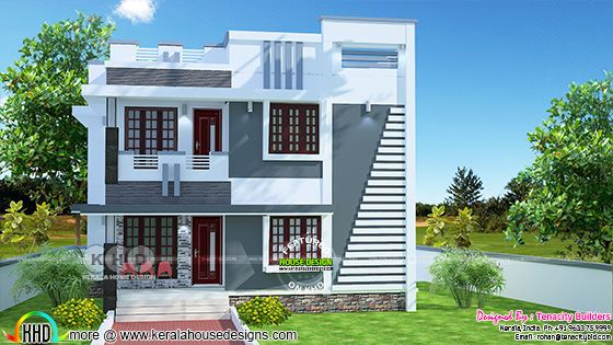 Upcoming 1698 sq-ft house project at Malapuram