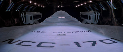 USS Enterprise saucer