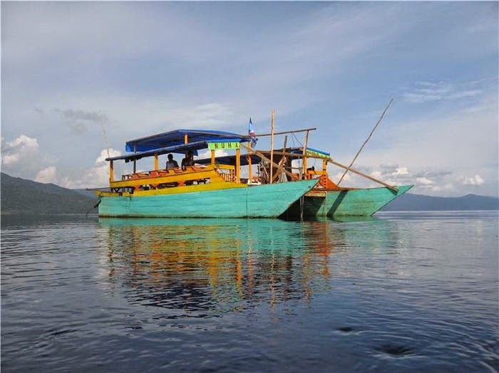 kadar sulfat, Danau Matano