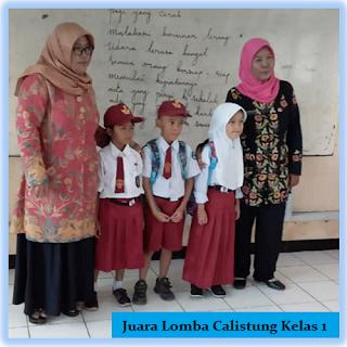 Lomba TKD Calistung SD Tingkat Kecamatan Jayakerta Tahun 2020