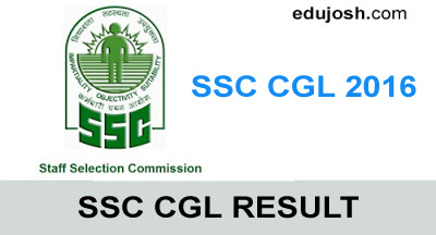 SSC CGL Result 2016