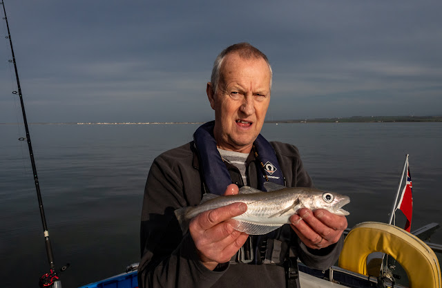 Photo of Phil with the largest whiting he caught on this trip