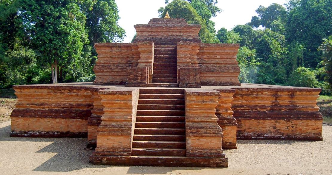 Down the Muarojambi Temple