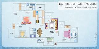 1745-sq.ft.-3bhk-study-floor-floor-plan-nirala-estate