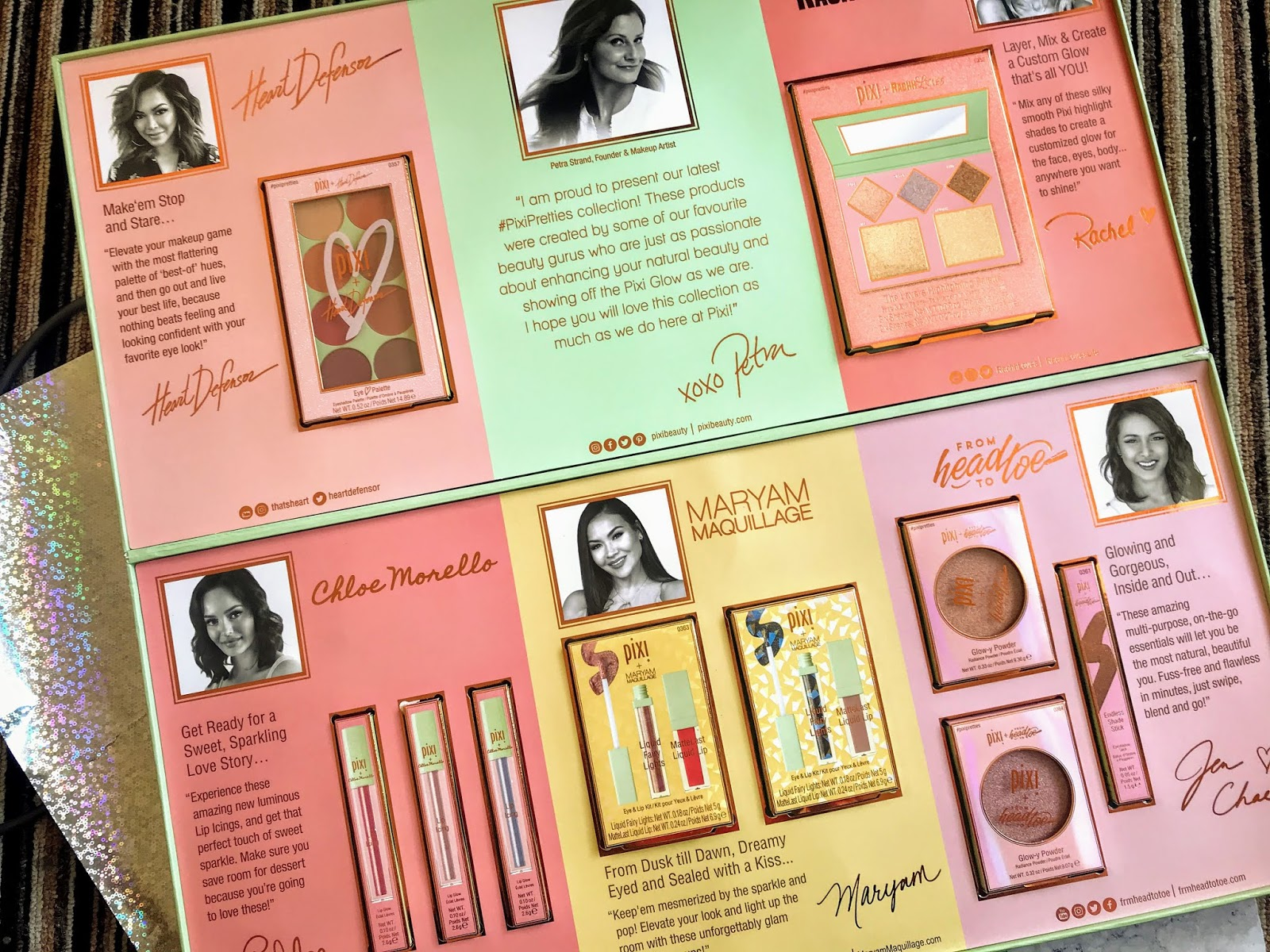 First Impressions of the #PixiPretties Collection