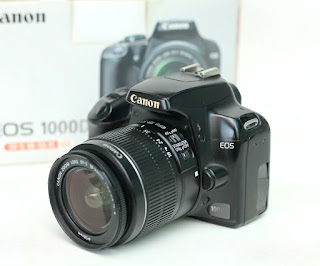 Jual Canon Eos 1000D - Kamera DSLR Bekas