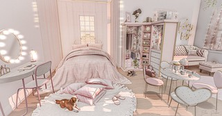 bedroom design girly