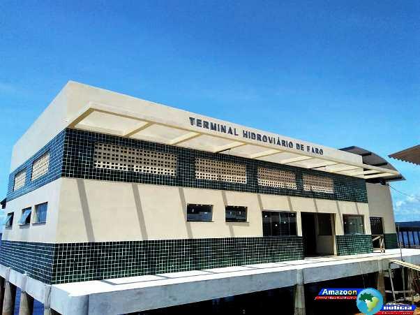 Terminal hidroviário de Faro, no Baixo Amazonas será inaugurado pelo governo do Estado.