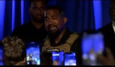 k2 - Kanye West confesses 'I virtually killed my daughter' as he sobs at marketing campaign rally