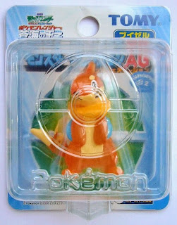 Buizel figure clear version Tomy Monster Collection 2006 movie promotion