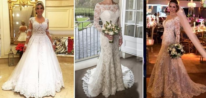 Melhores modelos de vestidos de noiva sereia
