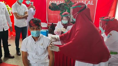 Vaksin Sinovac Covid 19 DiMulai, Ketua DPRD Buteng : Vaksin Dijamin Aman