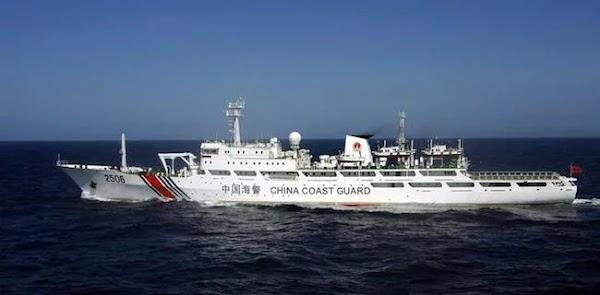 Kapal Pemerintah Komunis China Masih Bolak-balik Natuna, Bakamla Lawan Pakai White Hull