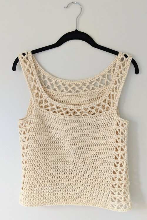 The Perfect Crocheted Summer Top - Free Pattern