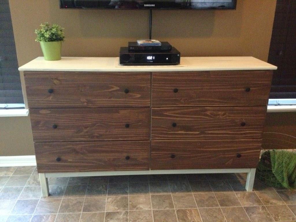 vintage look tarva tv console ikea hackers ikea hackers. Black Bedroom Furniture Sets. Home Design Ideas