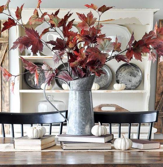 40+ Φθινοπωρινές συνθέσεις με φυσικά υλικά