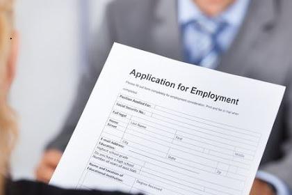 Contoh Surat Lamaran Pekerjaan, Panduan Lengkap 100% Berhasil
